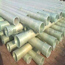 玻璃钢电缆保护管道,玻璃钢电力电缆管