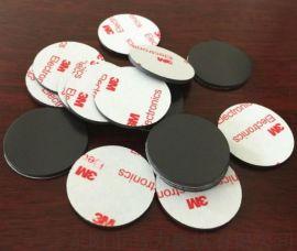 橡胶磁铁厂家 圆形3M背胶软磁铁片 软磁材料 圆形橡胶磁铁