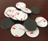 橡胶磁铁 圆形3M背胶软磁铁片 软磁材料