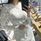 新款女裝風衣良品唯衆品牌女裝尾貨連衣裙季候風女裝