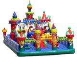 廣東室外經營大型充氣城堡一次上幾十個小孩