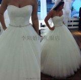 高档齐地外贸婚纱新娘结婚出门纱