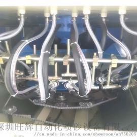 旺辉自动转盘式喷砂机深圳喷砂机