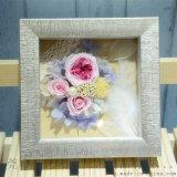 永生花相框批发 立体加厚画框 内立体空间 礼品框 放仿真植花物框