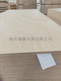 12mm胶合板家具级杨桉芯多层板平整度好不变形