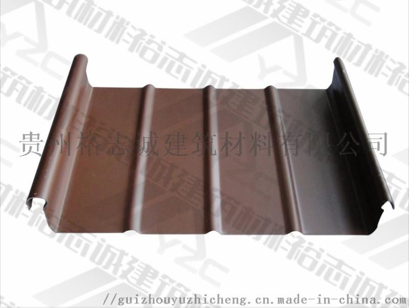 供應畢節鋁鎂錳板直立鎖邊屋面系統65-430廠家