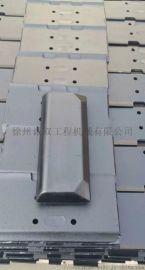 徐工RP802摊铺机整体履带板  分体胶块