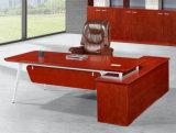 2487款2.4米油漆办公桌 胡桃木皮绿色环保家具