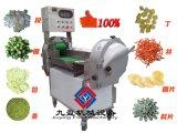 供应 双头多功能台湾切菜机器 香菇辣椒不锈钢切丝切丁机