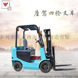 江苏1吨四轮座驾前移式电动堆高车厂家直销