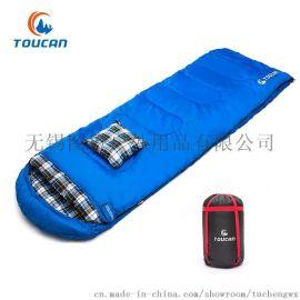 图橙户外 户外睡袋 可拼接睡袋 家居自驾 冬季 旅游睡袋 妈咪睡袋