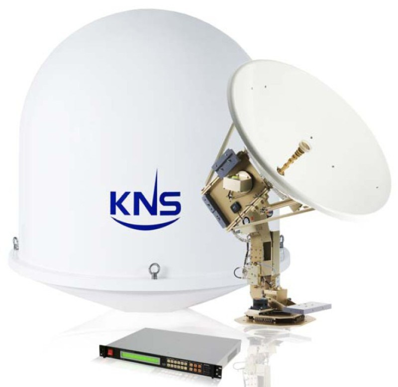 韓國KNS船載衛星天線S12船用自動跟蹤天線