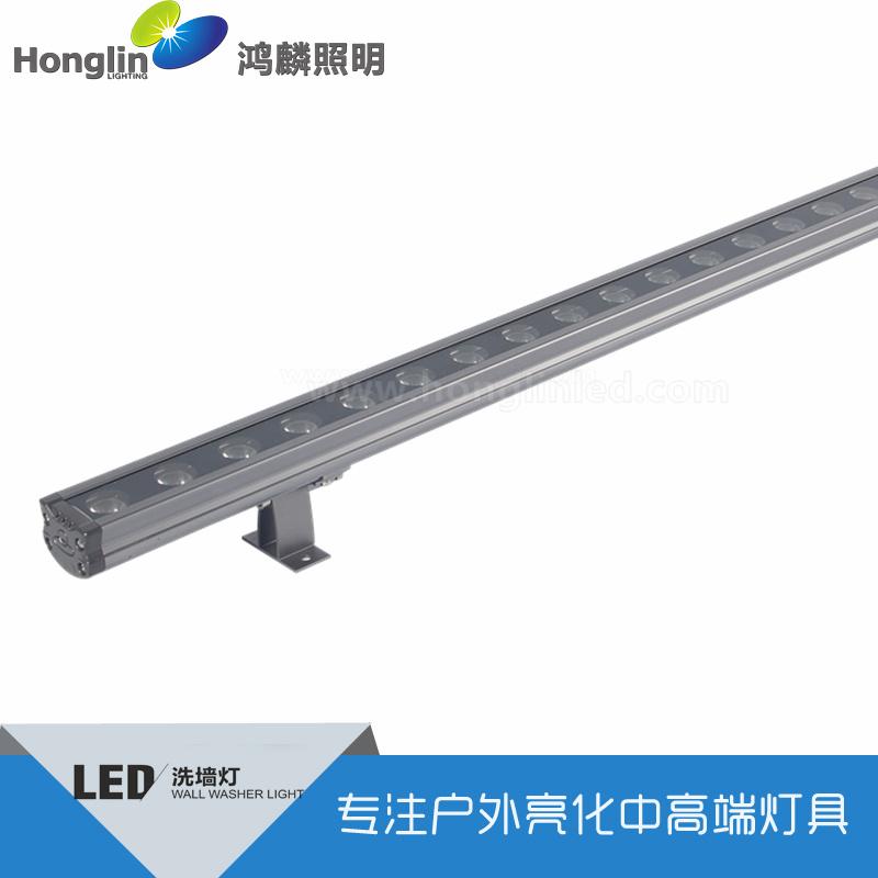 新款式高品质LED洗墙灯36W单色全彩控线形灯