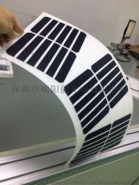 国瑞阳光PET/ETFE层压半柔性可弯曲太阳能板