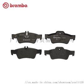 brembo布雷博后刹车片P50052适用于奔驰CLS300/350/500/E200/260