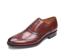 顶级小牛皮商务正装皮鞋