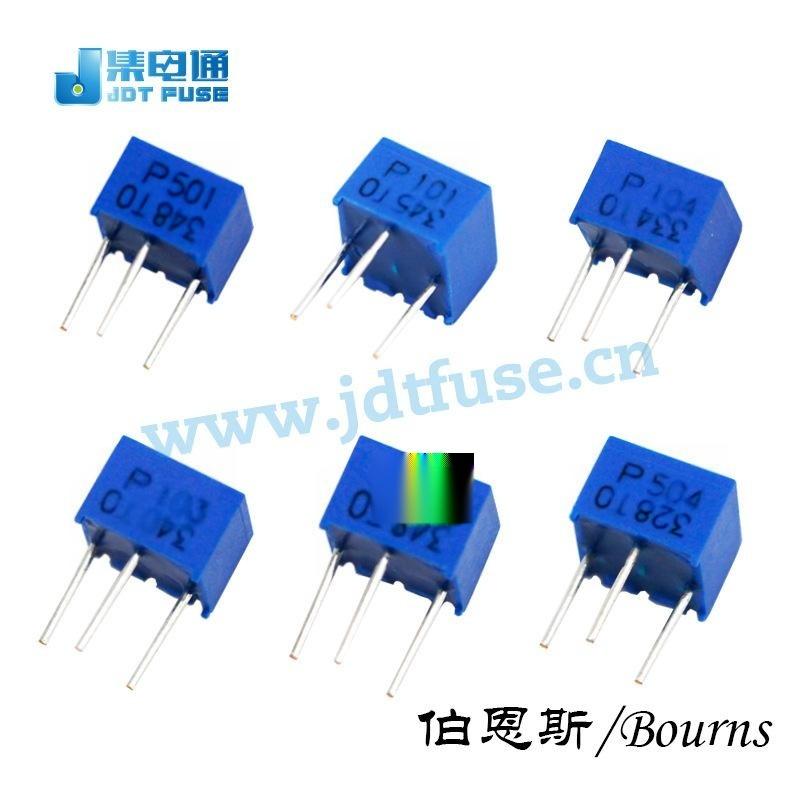 邦士原裝現貨BOURNS(伯恩斯)微調電位器3362W-1-504LF