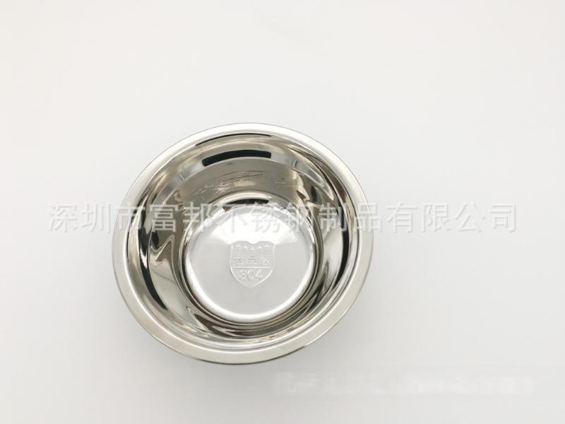特厚正品304不锈钢汤盆单层汤碗菜盆面碗打蛋盆