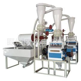 杂粮全套磨粉机皮芯分离6F2250不锈钢 面粉机