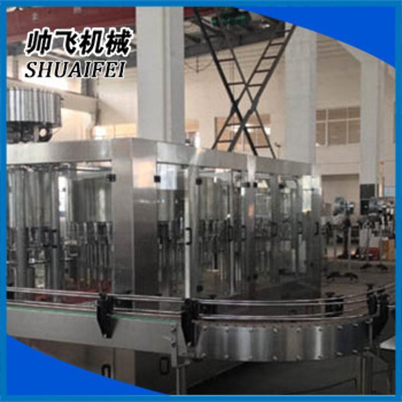 水處理灌裝設備 液體飲料三合一灌裝機 純淨水礦泉水灌裝機