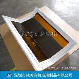 亚克力机器面罩面盖 有机玻璃多边折弯仪器设备壳 深圳机器配件