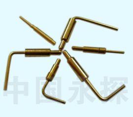 中国永探折弯式pogo pin 弹簧针 天线顶针