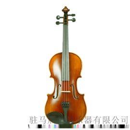 纯手工纯实木进口植物油漆学生小提琴