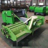 拖拉机带回收式打捆机 小型秸秆捡拾打捆机厂家