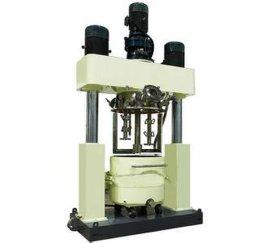 龙门式三轴分散搅拌机,液压升降三轴搅拌机