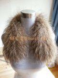 东北貉子皮边排毛领帽条60*5cm皮板 骆子毛帽条厂家批发