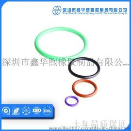 深圳厂家专业生产FKM绿色氟橡胶o型圈 规格齐全 耐磨耐高低温