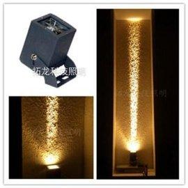 10WCREE芯片窄角LED聚光灯 外墙柱子照明专用LED投射灯(窄角度)
