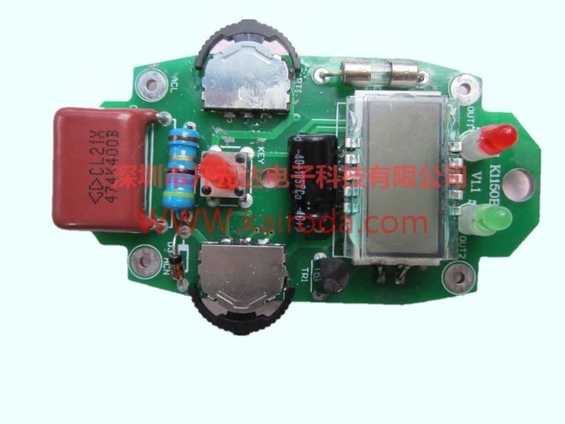 LED数码管LCD液晶显示器温度控制板电路设计、程序开发