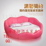 上海酒店水床,圆形恒温水床,电动床,情侣双人床