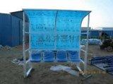 广鑫户外移动式足球防护棚,足球场遮阳防护棚