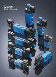 气动元件电磁阀4V320-08/10-220V/24V气缸配件控制阀气阀**阀门