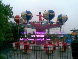 供应客流量大的旋转升降游乐设备桑巴气球