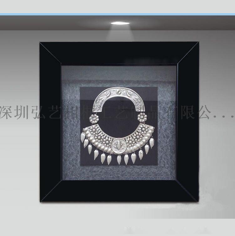 新款 立体加厚工艺品画框 中空3.5厘米放永生花相框 标本相框