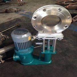 电控液动插板阀不锈钢刀闸阀DN3电液动200浙江世豪阀门有限公司
