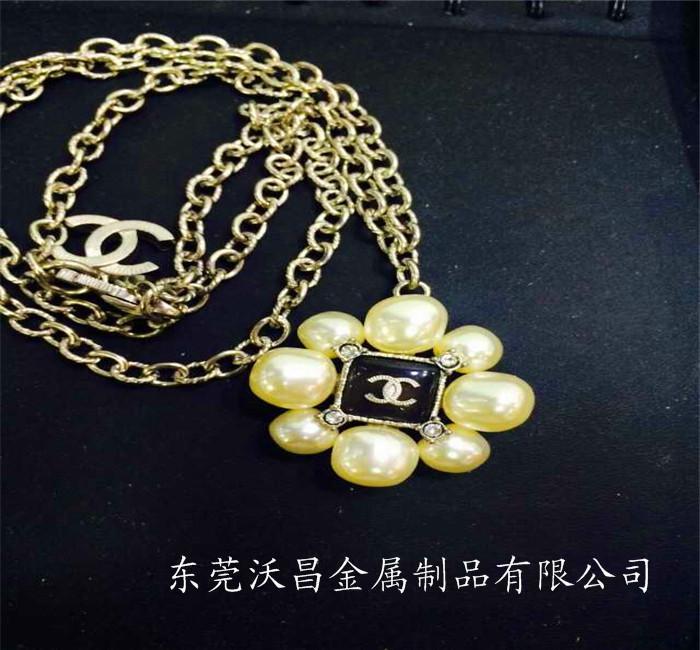 东莞沃昌专业生产压铸锌铝合金耳环、项链、饰品等