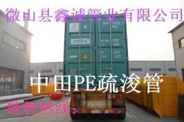 鑫诚管业 提供大量**高密度高分子聚乙烯管道