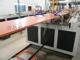 青岛佳良塑料机械设备-木塑门板生产线