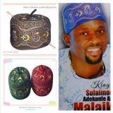 非洲新款穆斯林绣花羊毛帽