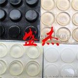 平頭透明防滑膠墊, 方形硅膠防滑墊, 自粘橡膠墊