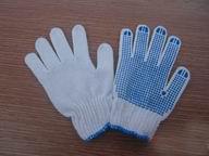 PVC点珠手套
