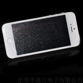 苹果iPhone5/5s/5c钢化玻璃钻石保护膜 全屏膜贴手机保护膜