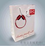 纸袋定做 现货服装购物礼品广告袋 定制印刷logo包装袋