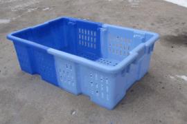郑州塑料双色箱,双色塑料筐,颠倒可堆式,厂家生产