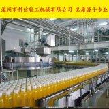全自动橙子饮料灌装机 中型橙汁饮料加工生产线-kx饮料加工设备