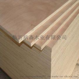 厂家直销杨木多层包装板托盘用半整芯胶合板